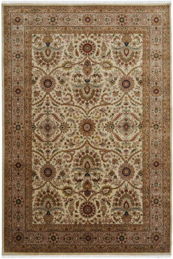 Iranian Art Handknotted Wool Area Rug