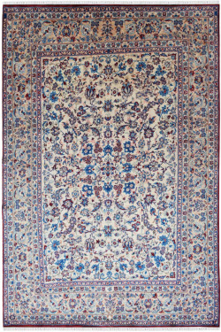 Persian Motifs Traditional Wool Carpet