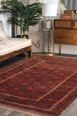 Faded Barjesta Kilim Carpet