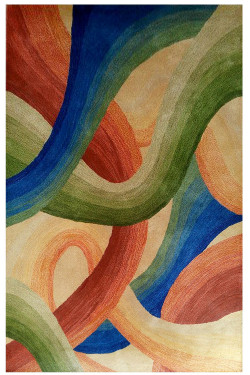 Abstract Art Modern Hand-tufted Carpet