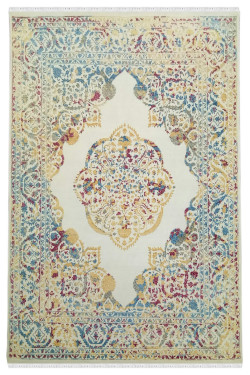Medallion Pastel Beautiful Woolen Area Rug