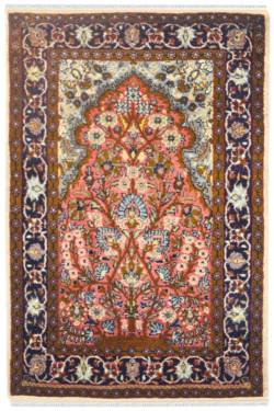 Jaal Tree of Life Woolen Area Rug