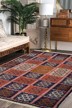 Multi Dibbi Kilim Handmade Carpet