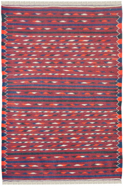 Geo Needle Work Kilim Carpet