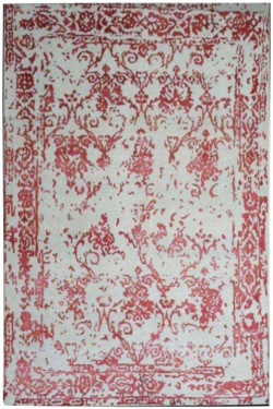 Rustfully Modern Handknotted Carpet