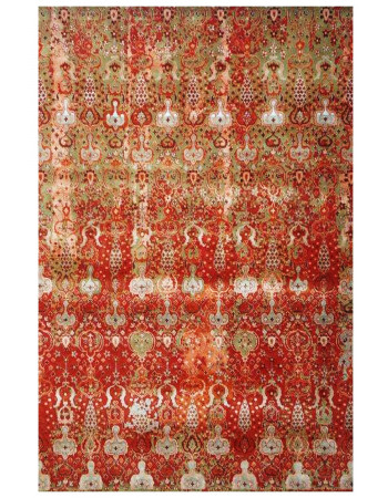 Bridal Beauty Handknotted Wool Carpet