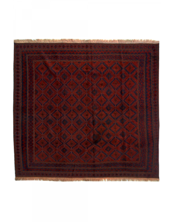 Geometric Medium Size Kilim