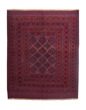 Cherry Living Room Tribal Kilim