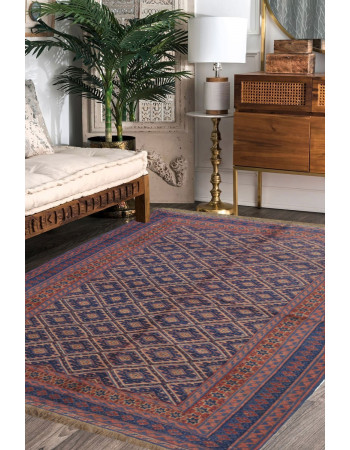 Devil Eyes Kilim Carpet