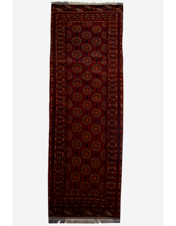 Maroon Runner for Passage Rug