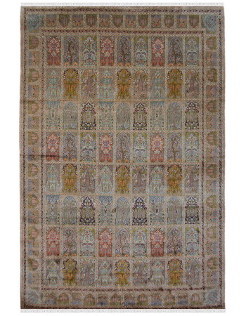 Jewel Hamadan Silk Carpet