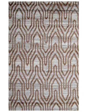 Continuity Bar Contemporary Moroccan Area Rug