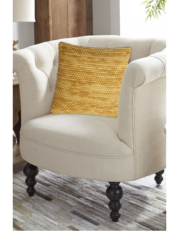 Mustard Powder Wool Pillow