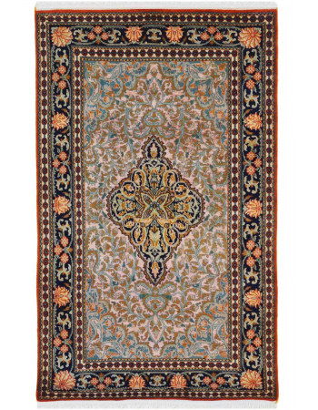 Teal Medallion Kashan