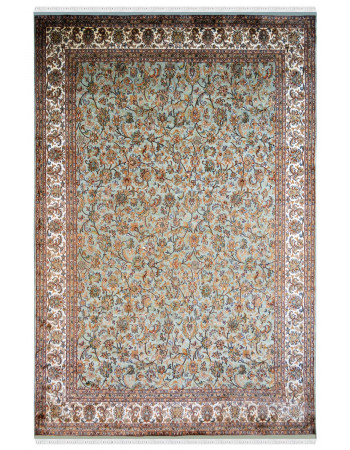 Luxury Kashan Silk Area Rug