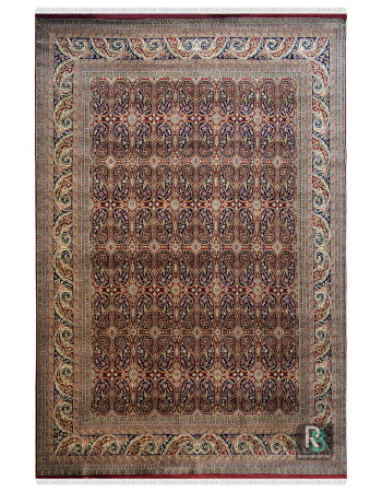 Booti Paisley Persian Wool Carpet