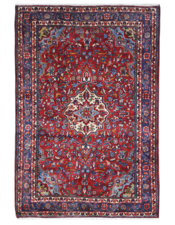Maroon Phool Kashan Carpet