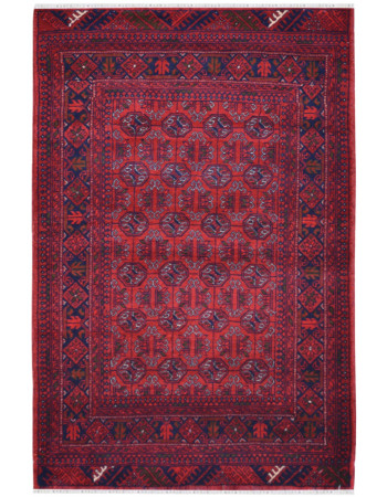 Bijlik Bokhara Afghan Traditional Carpet