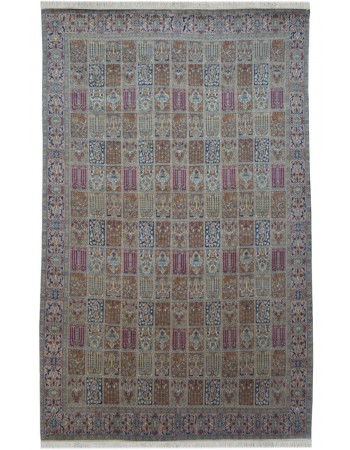 Multi-Color Hamadan Kashmir Carpet