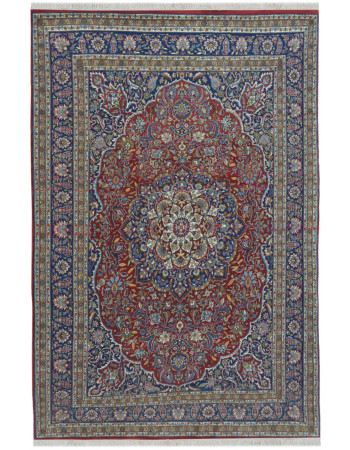 Persian Laal Kashan Wool Carpet