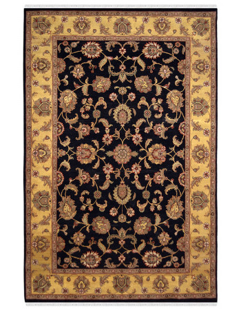 Floral Jaal Wool Traditional Area Rug