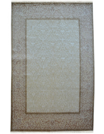 Ivory Summer Self Wool Large Rug