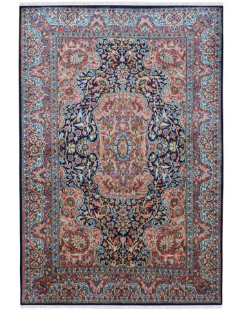 Victorian Mahal Pure Traditional Silk Rug