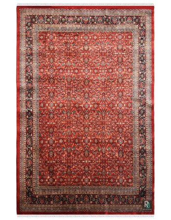 Kashmiri Nain Beautiful Handknotted Wool Rug