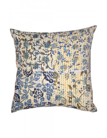 Ikat Floral Pillow