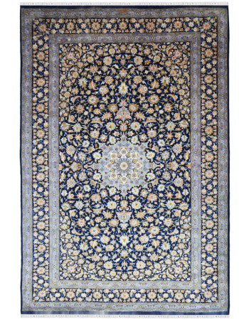 Persian Kashan handknotted Wool Area Rug