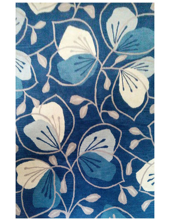 Fresh Water Lilies Beautiful Hand-tufted Rug