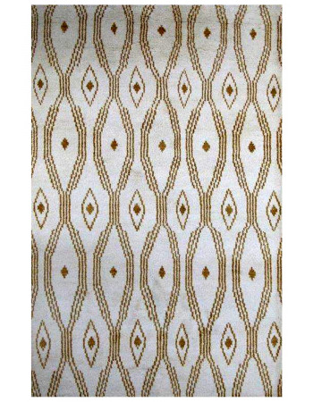 Dew Drop Moroccan Handmade Pure Wool Rug
