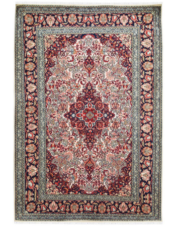 Jewel Beauty Medallion Handknotted Rug