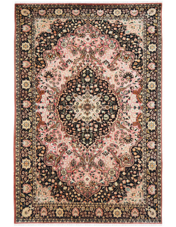 Pink Gumbh Traditional Wool Area rug