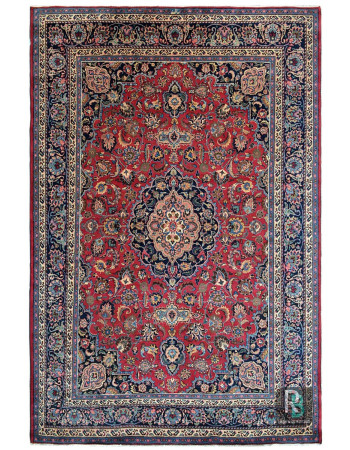 Laal Kashan Jewel 9 X 12 Feet Persian Carpet