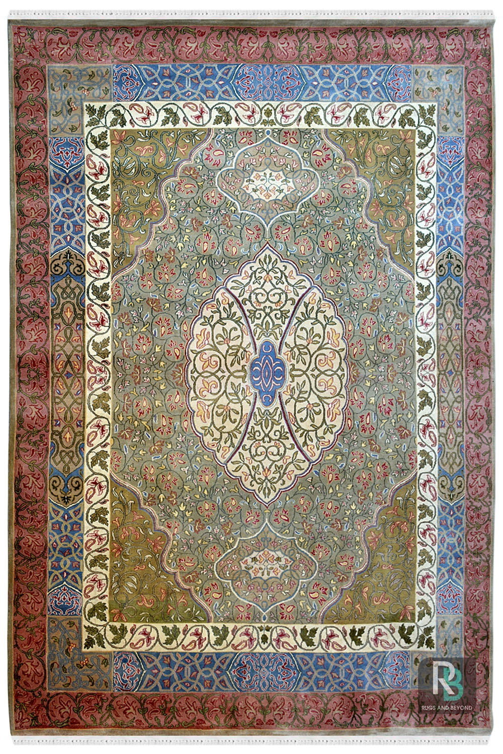 dual oval handmade wool carpet and rugs online at rugs and beyond. Black Bedroom Furniture Sets. Home Design Ideas