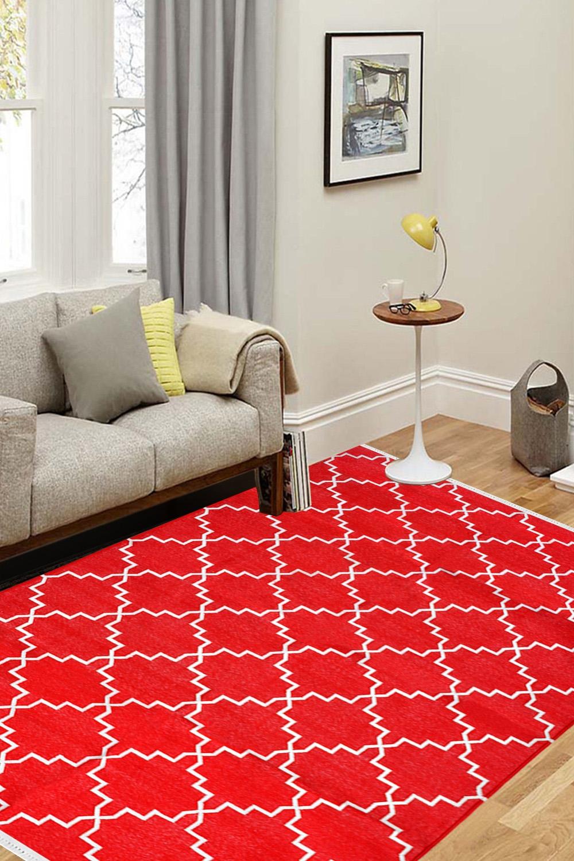 Buy Eye Catchy Red Zanjir At Resonable Price Range