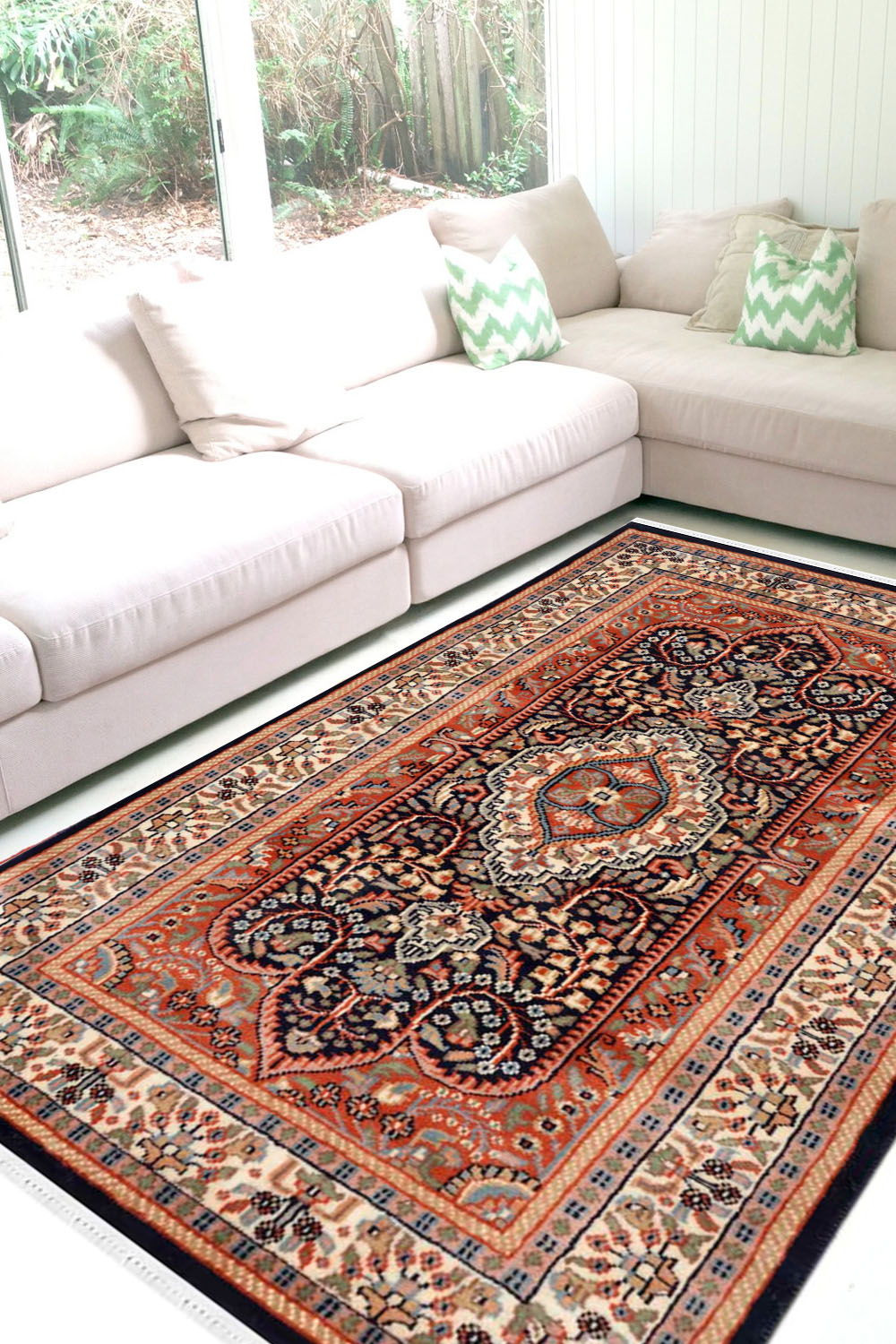 Shop Beautiful Rust Victorian Wool Area Rugs And Carpet Online