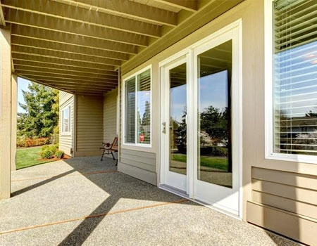 Clear Outdoor blinds
