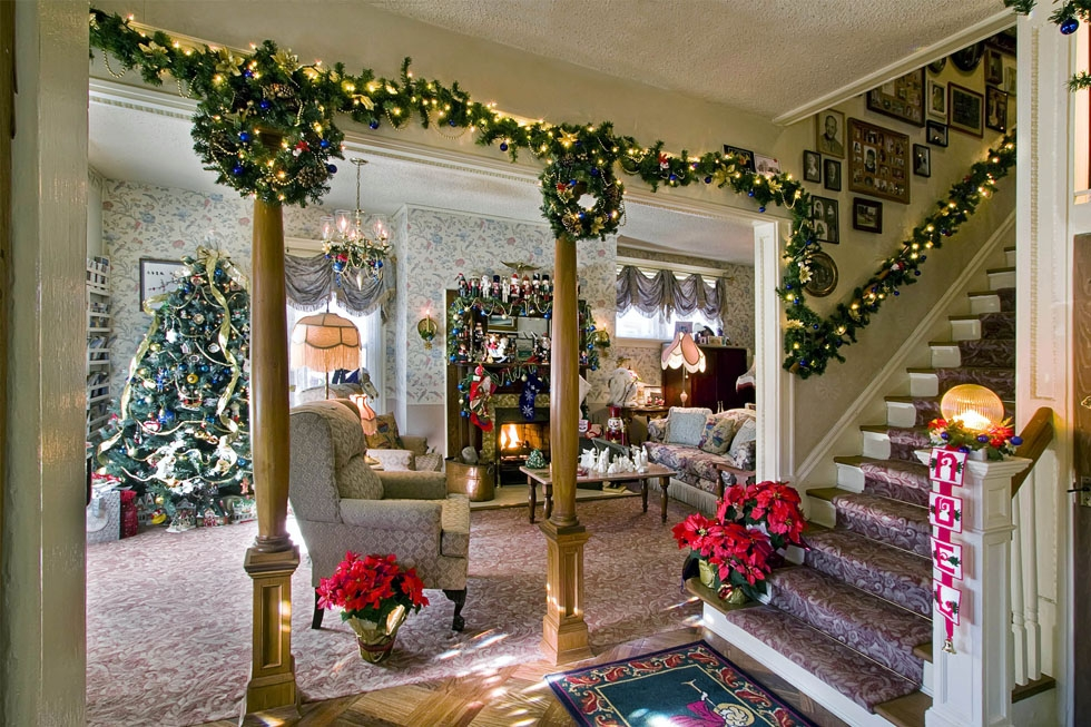 Decorative Christmas room