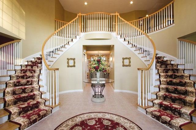 Staircase rug