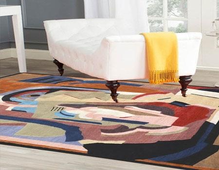 Contemprory design carpet