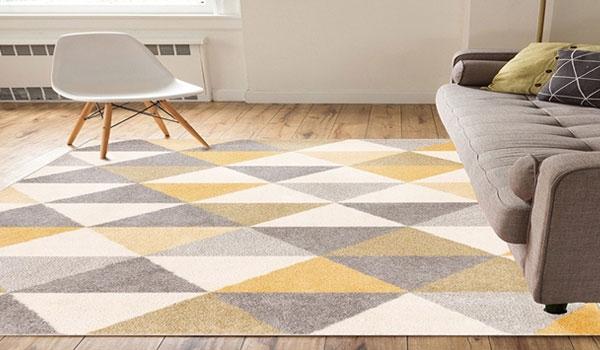 Geometrical Design Carpet
