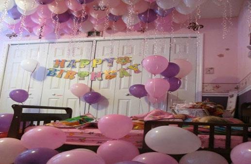 Bedroom For Birthday