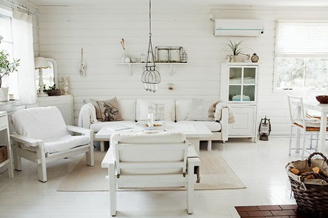All White Interiors