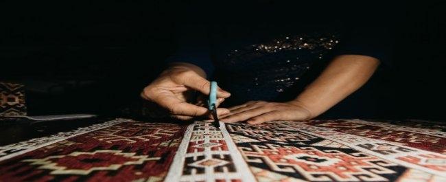 Custom handmade rug