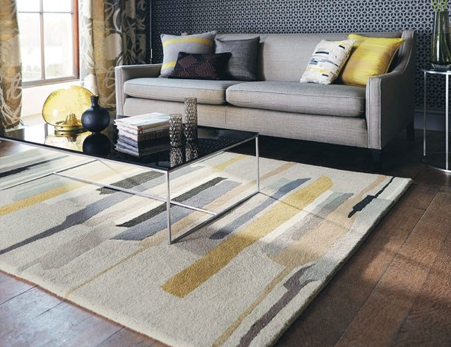 Designs Of Contemporary Rug Handmade Rugs Contain Design Which Is The Combination Circle Oval Squares Etc