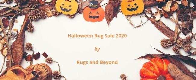 Halloween rug sale 2020